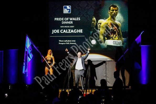 Joe Calzaghe The Events Room