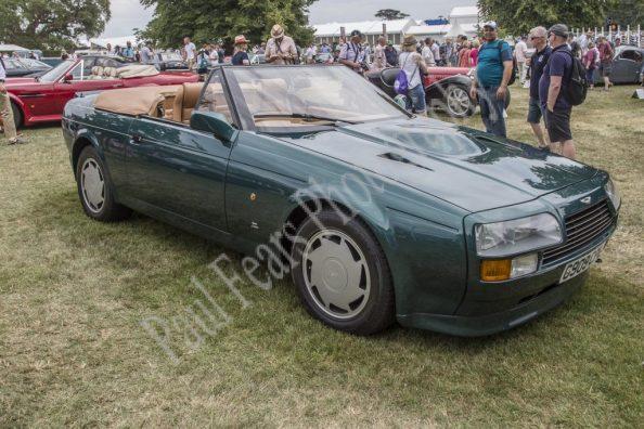 Aston Martin V8 Zagato Volante 1990