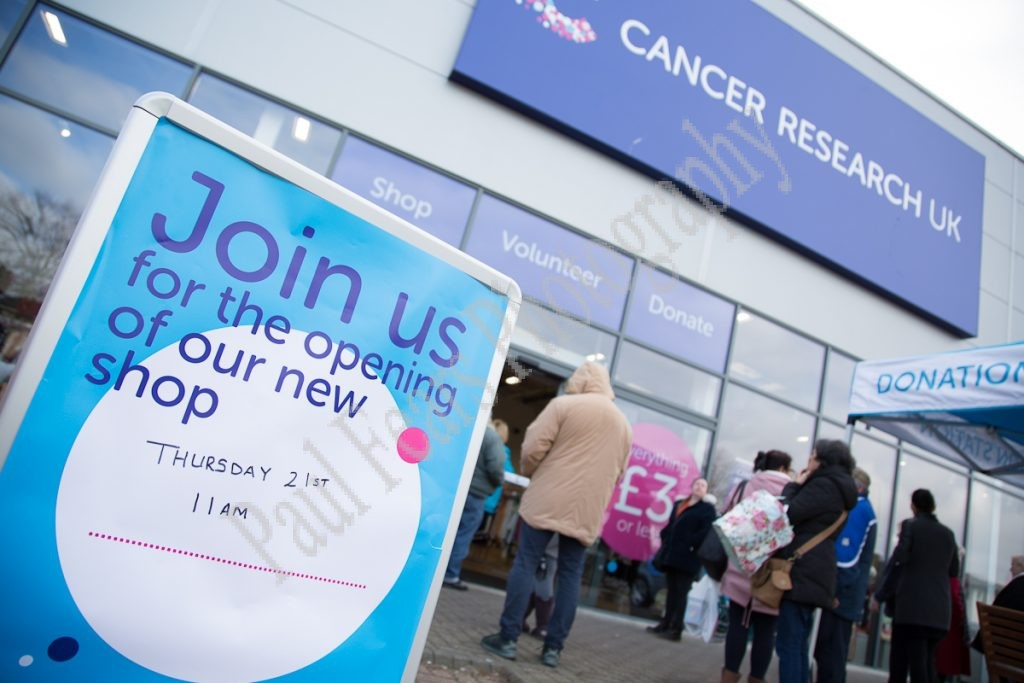 Cancer Research Uk Cardiff Superstore Paul Fears Photography